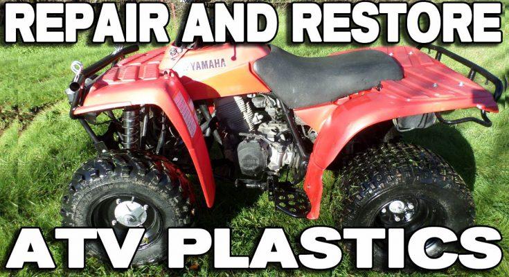 How to Repair and Refinish Your ATV and Dirt Bike Plastics